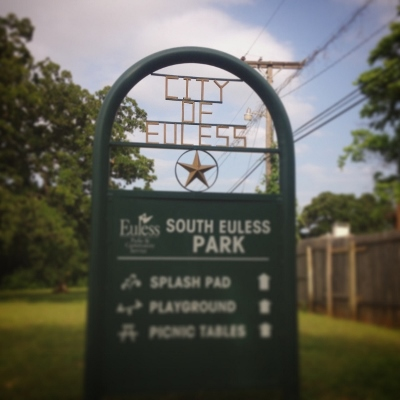 Sign for South Euless Park