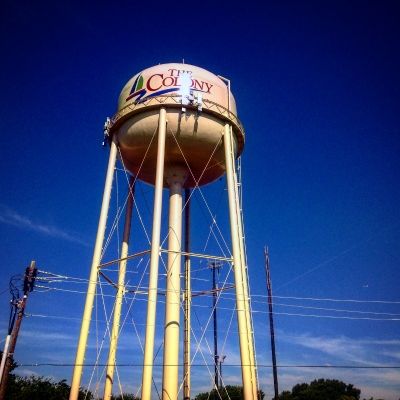 Water tower for The Colony