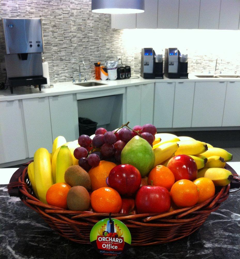 Fruit basket in corporate kitchen