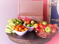 Assortment of fresh fruit available for delivery
