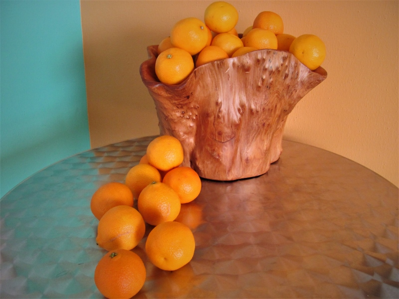Clementines on display